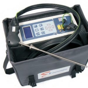 Portable Flue Gas Analyser with datalogging