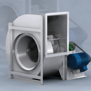 Industrial centrifugal fan with Airfoil