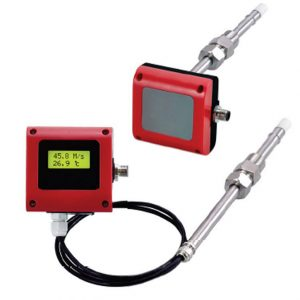 Digital thermo air velocity transmitter