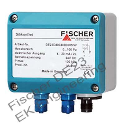 Fischer DE23 - Very Low pressure Air DP Transmitter