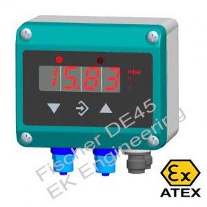 Fischer DE45 Ex - digital DP Transmitter (DE45..R, DE45..S) with limit switch