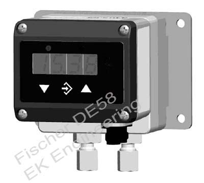 Fischer DE58 - DP transmitter switch - level monitor gaseous media