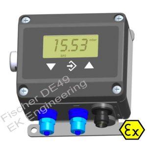 Fischer DE49 - ATEX, intrinsically safe DP Transmitter - air, gases
