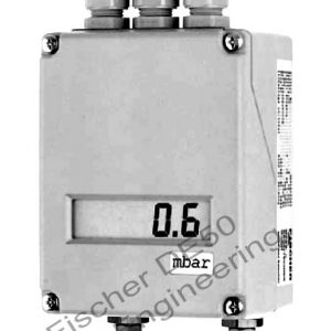 Fischer DE50 - Smart industrial Differential pressure transmitter switch