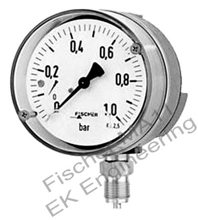 Fischer MA11 - bourdon tube pressure gauge / manometer