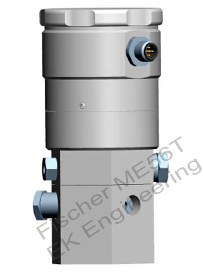Fischer ME56T - Electropneumatic liquid level transmitter / monitor
