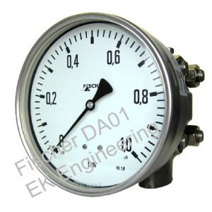 Fischer DA01 - corrossion resistant DP gauge for liquids, gases