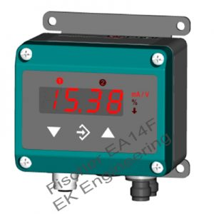 Fischer EA14F - liquid level indicator with color change LED display