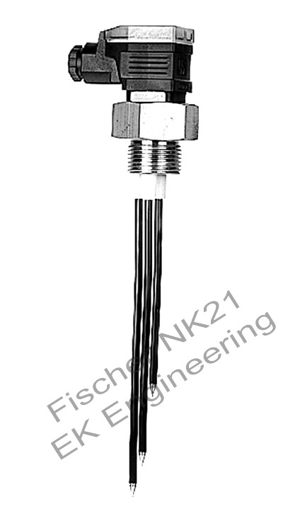Fischer NK21 - liquid level switch for conductive liquids, with LED indicator