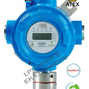 LPG sensor - LEL detector for Zone 1, 2 explosion proof - with display, relay, alarm LEDs