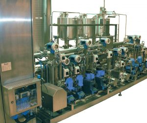 Process SKIDs from Centec GmbH for deaeration, demineralisation etc for breweries, dairy, food