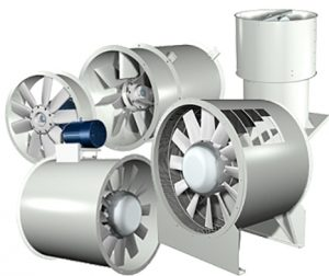 EK Engineering air ventilation products - axial fans, jet fans, dampers