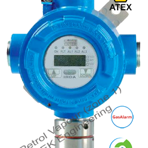 Petrol vapour detector - explosion proof, Zone 1 ATEX, display, relays, RS485