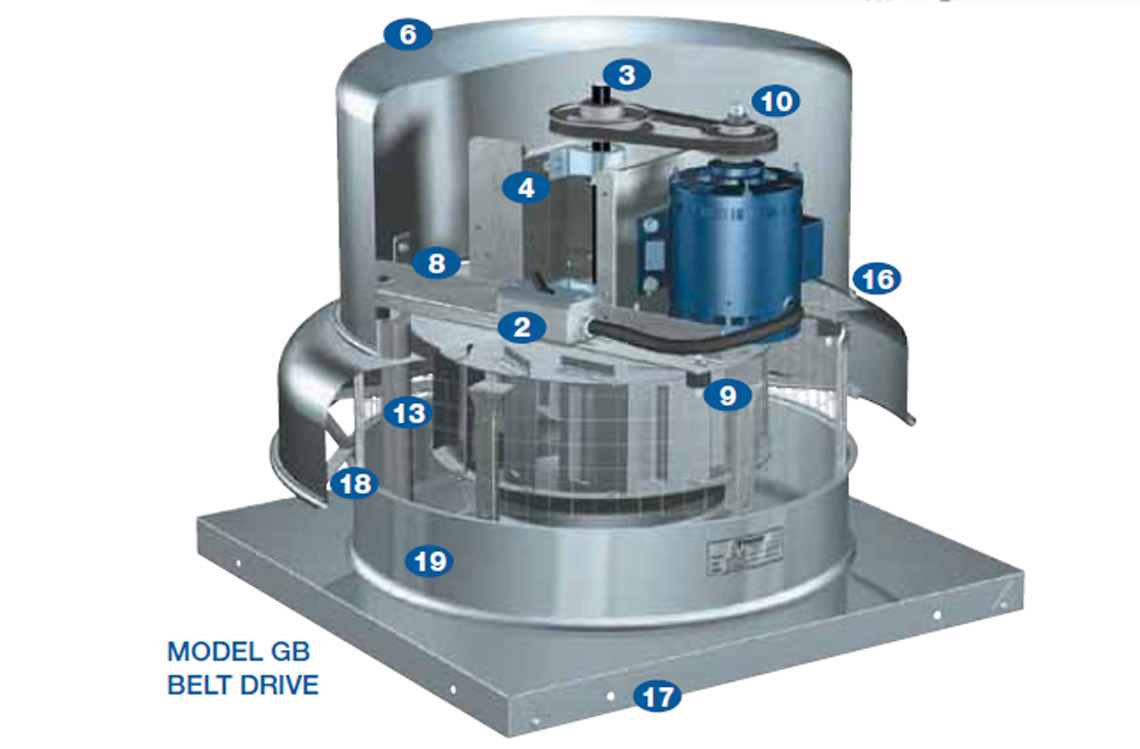 Centrifugal Roof Exhaust Fan