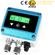 Fischer DE38 - Explosion proof differential pressure transmitter for gas, dust hazardous area