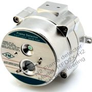 Hydrogen flame detector based on UV / IR spectrum, ATEX. FM explosion proof, IP67, contactless