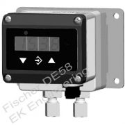 Fischer DE58 - DP transmitter switch - level monitor gaseous media