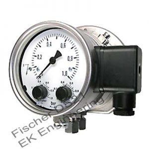 Fischer DS21 - Industrial DP Switch - flow monitor thermal oil, water