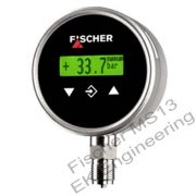 Fischer MS13 - configurable pressure switch / transmitter with color change display for aggressive media