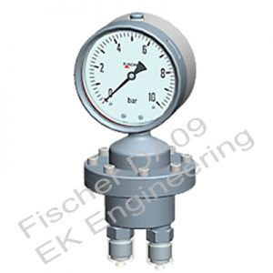 Fischer DA09 - low pressure DP Gauge