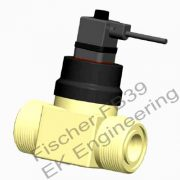 Fischer FB39 - Flow transmitter for aggressive media - waste water, effluent, acids, eletroplating