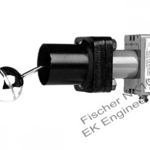 Fischer NK10 - level limit with microswitch, high operating temperature, corrosion resistant