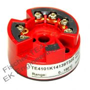 Fischer TE41 - programmable thermocouple temperature transmitter, high accuracy