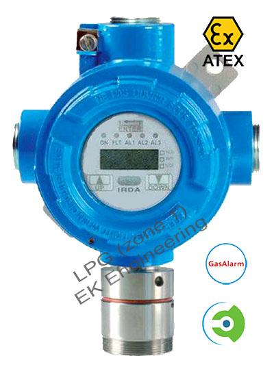 Lpg Gas Detector Flameproof Lel Sensor Zone 1 Atex