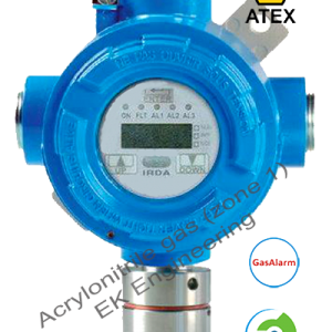 Acrylonitrile gas LEL sensor transmitter - gas detector ATEX, SIL 2, Zone 1,2