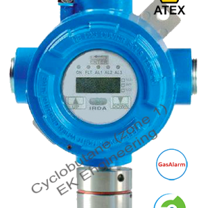 Cyclobutane sensor transmitter - analog output, online LEL monitor, ATEX, SIL 2, onboard relays