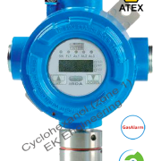 Cyclohexanol gas detector - flameproof, ATEX certified, online, fixed with display, relays for Zone 1, 2 haz area