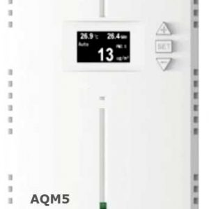 Air Quality Monitor for PM2.5, PM 10.0, CO2, TVOC, Temperature, Humidity measurement